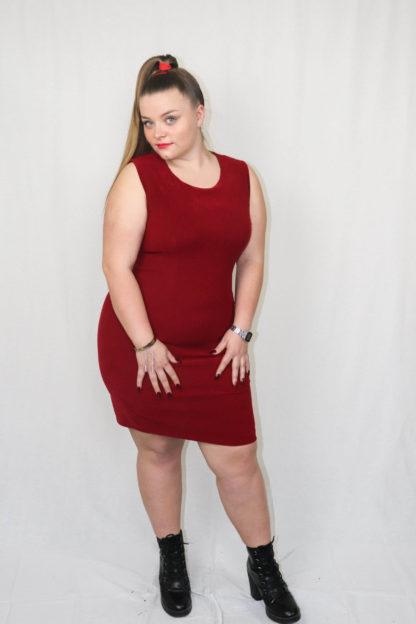 robe-moulante-rouge-4
