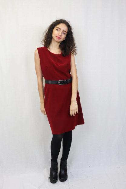 robe-moulante-rouge-1
