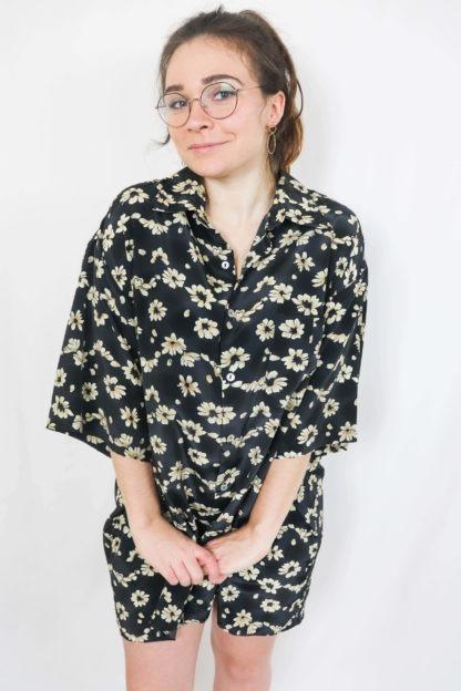 robe-chemise-courtes-motif-fleuri-2