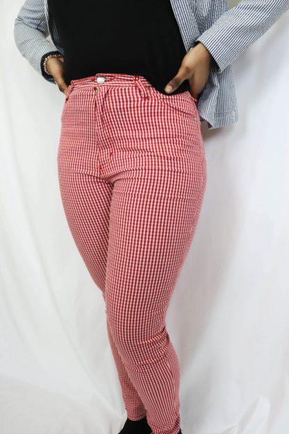 pantalon-slim-vichy-rouge-2