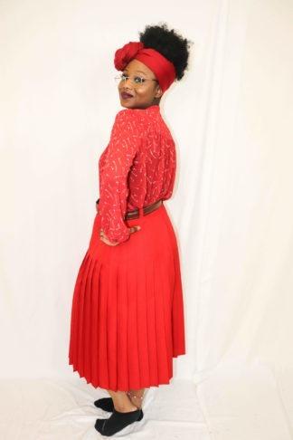 jupe-plissée-rouge-1