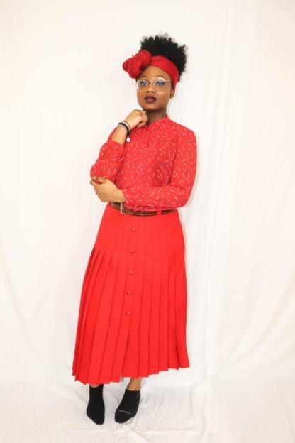 jupe-plissée-rouge-2