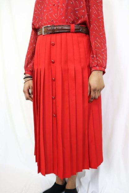 jupe-plissée-rouge-3