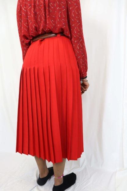 jupe-plissée-rouge-4