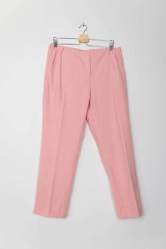 pantalon cigarette rose (1)