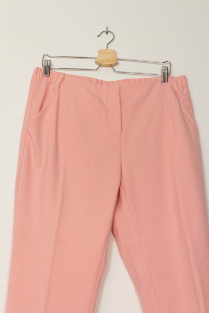 pantalon cigarette rose (2)