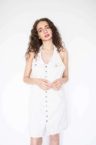 robe blanche en jean dos nu (1)