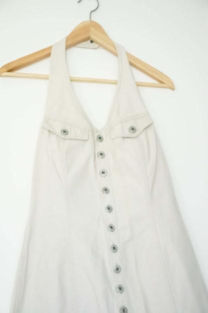 robe blanche en jean dos nu (3)
