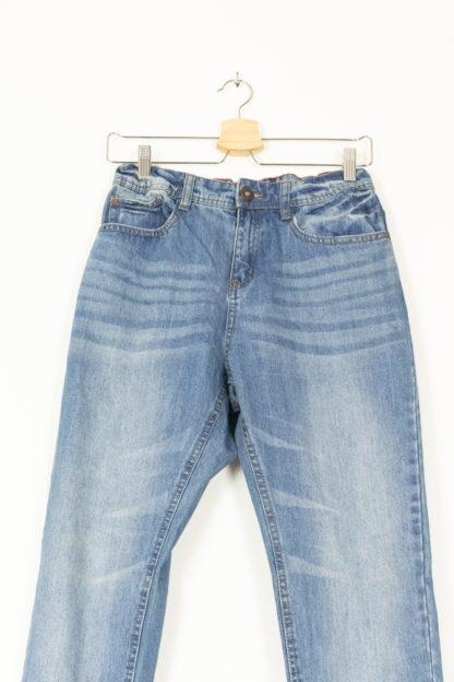 jean slim clair taille haute (4)
