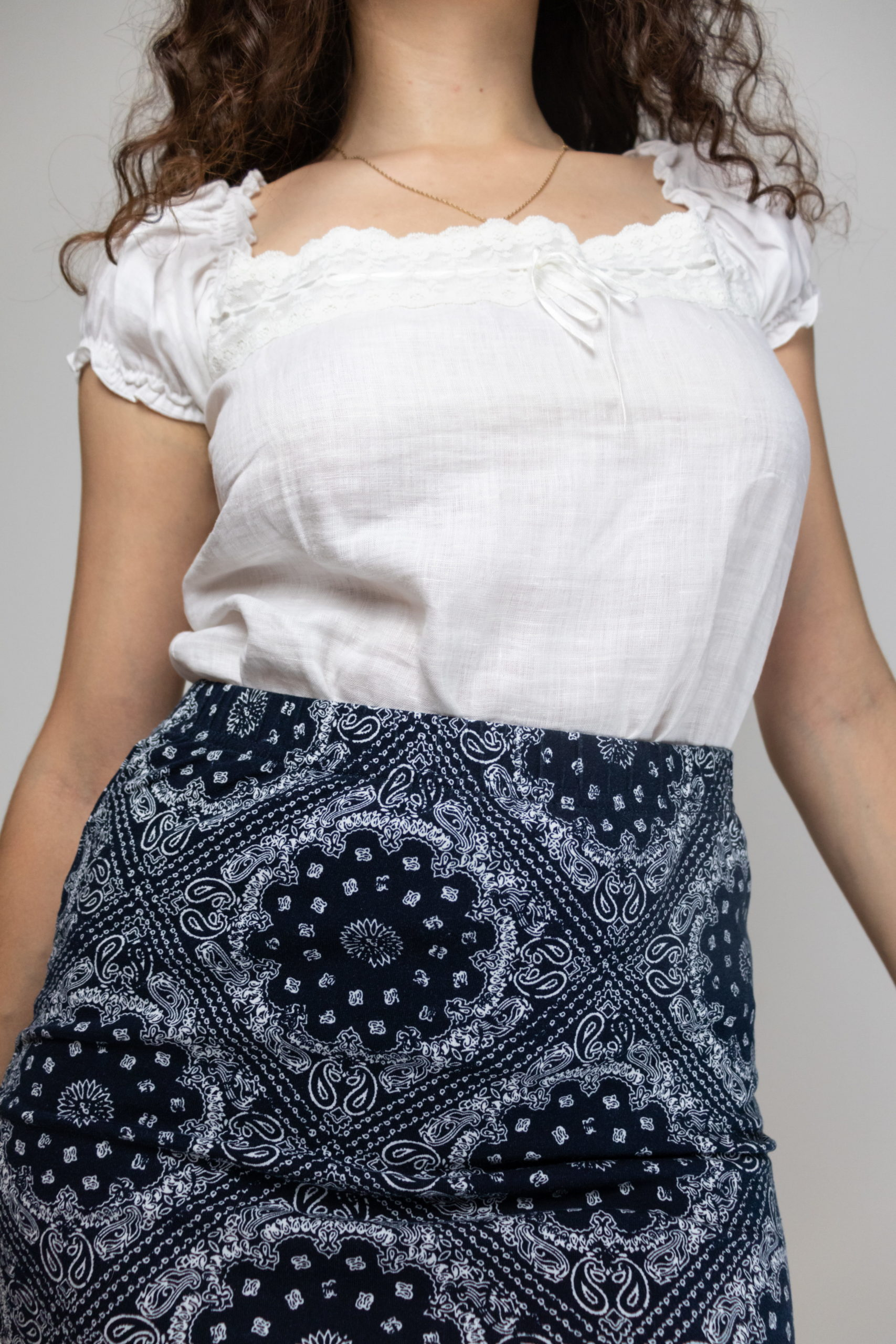 minijupe moulante motif bandana (4)