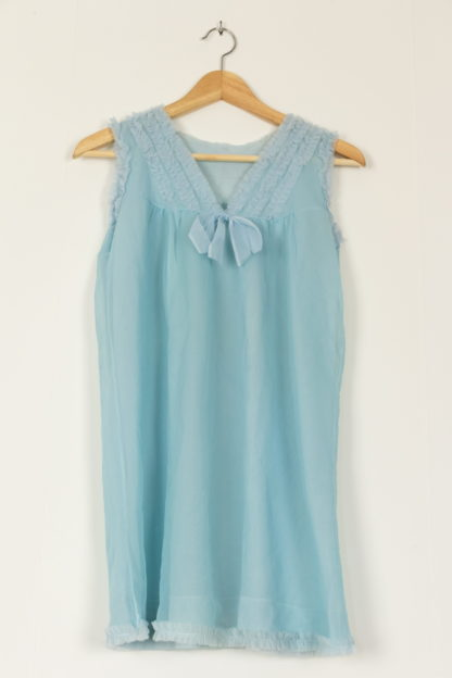 robe nuisette vintage bleu (4)