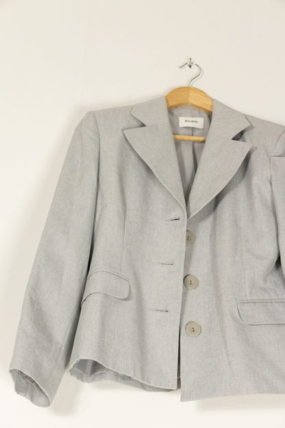 blazer bleu gris coupe vintage (2)