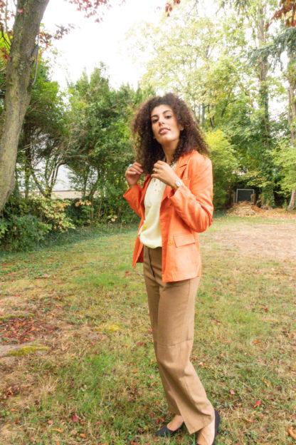 blazer vintage orange (1)