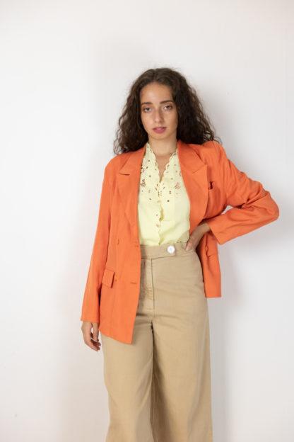 blazer vintage orange (3)