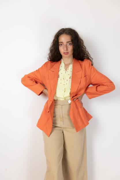 blazer vintage orange (4)