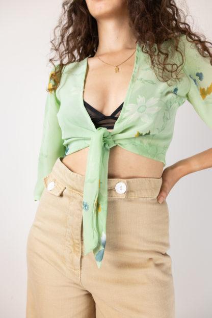cache coeur transparent vert menthe motif fleuri (4)