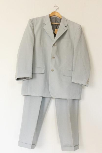 ensemble blazer pantalon bleu ciel (1)