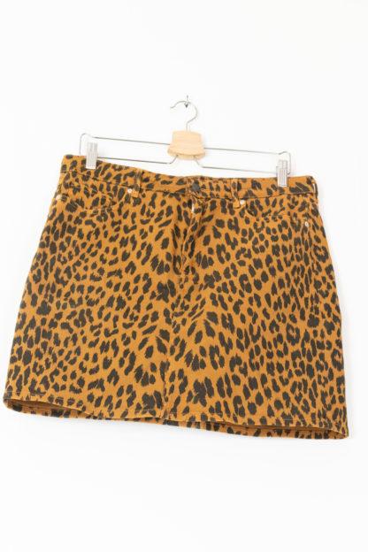 jupe moulante en jean léopard (2)