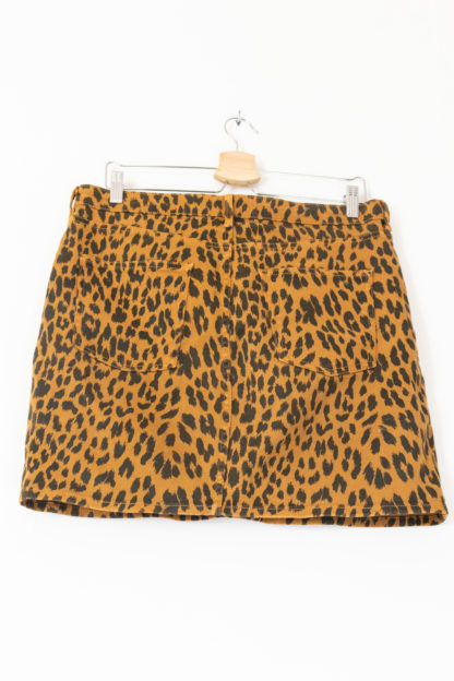 jupe moulante en jean léopard (3)