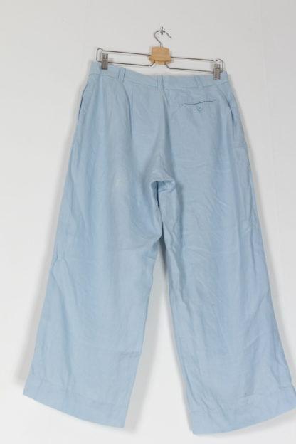 pantalon de costume fluide bleu ciel (2)