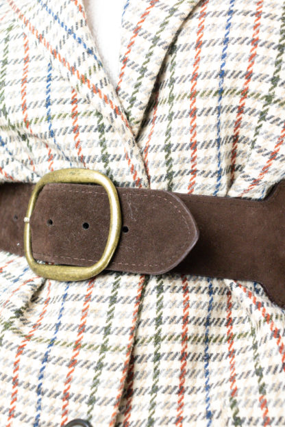 ceinture taille marron en cuir (3)