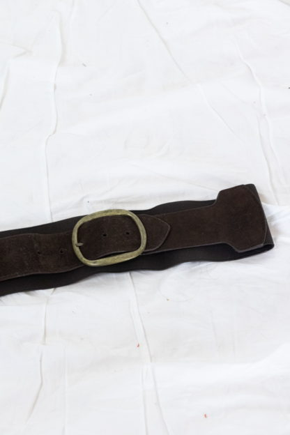 ceinture taille marron en cuir (5)