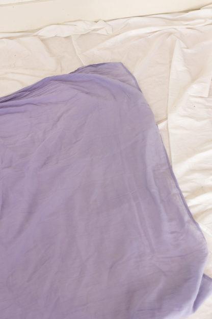 foulard lilas