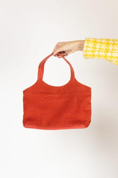sac orange cotelé (1)