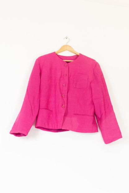 veste vintage fushia (2)