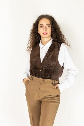 veston en cuir marron (1)