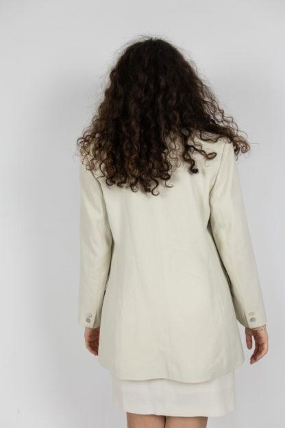 ensemble blazer jupe crème (3)