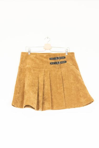 jupe plissée camel (1)