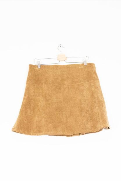 jupe plissée camel (2)