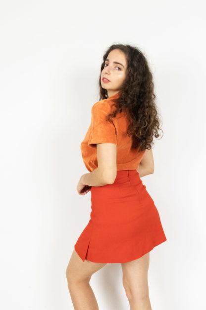 jupe plissée rouge (2)