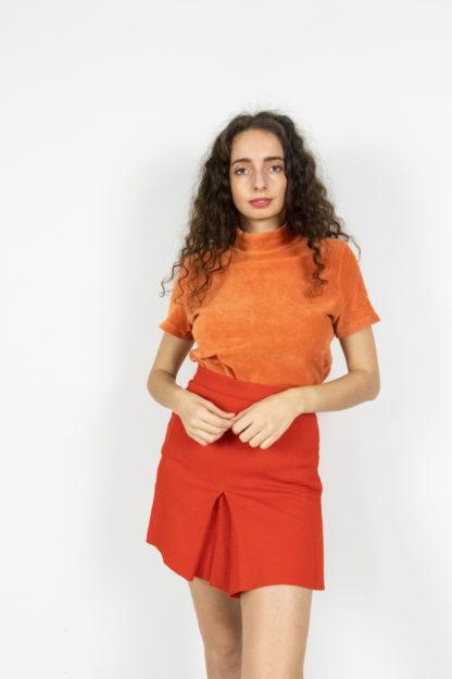 jupe plissée rouge (3)