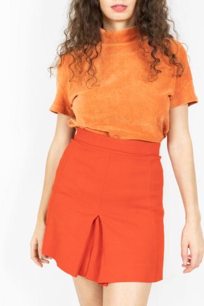 jupe plissée rouge (4)