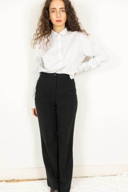 pantalon à pince noir (1)