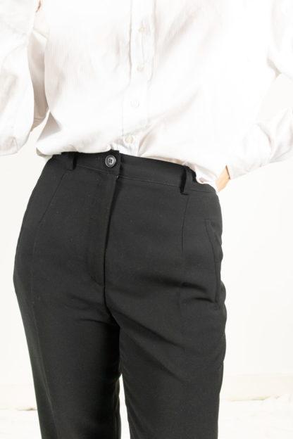 pantalon à pince noir (2)
