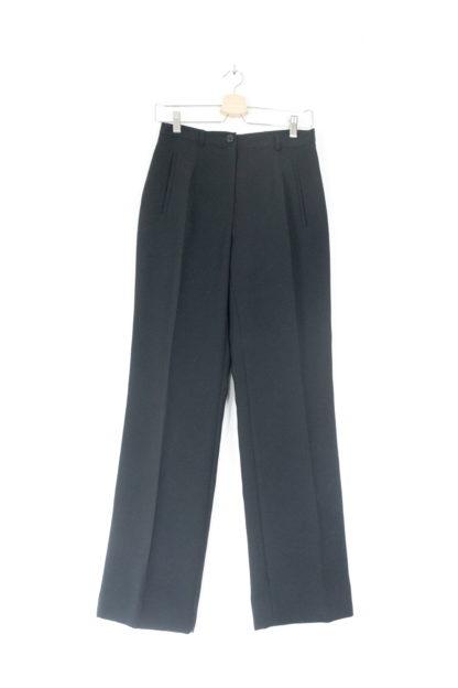 pantalon à pince noir (5)