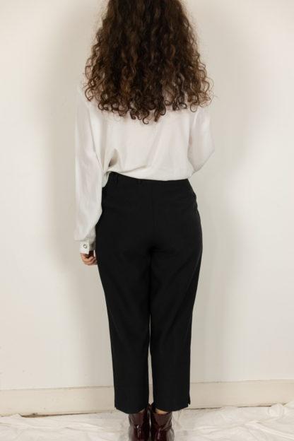 pantalon à pince noir court 3-4 (4)