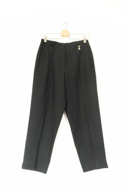 pantalon à pince noir court 3-4 (5)