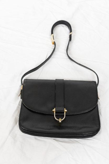 sac pochette Pourchet en cuir (1)
