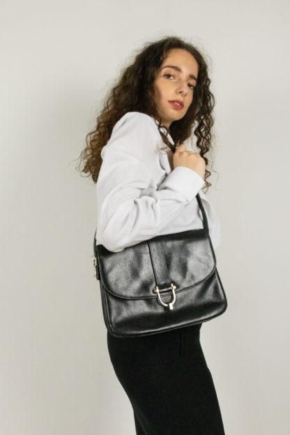 sac pochette Pourchet en cuir (3)