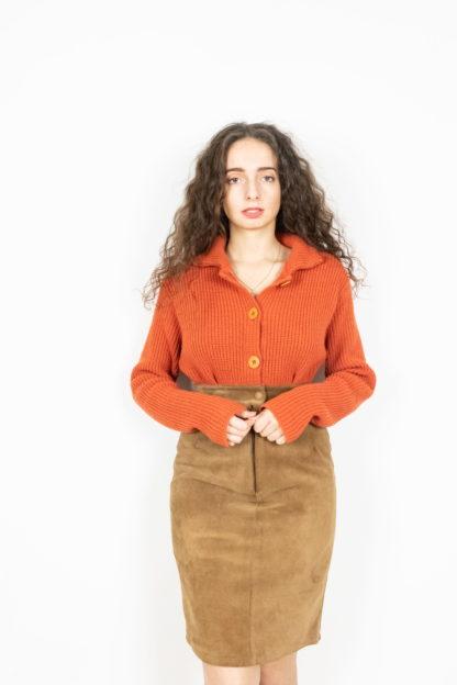 cardigan orange (2)