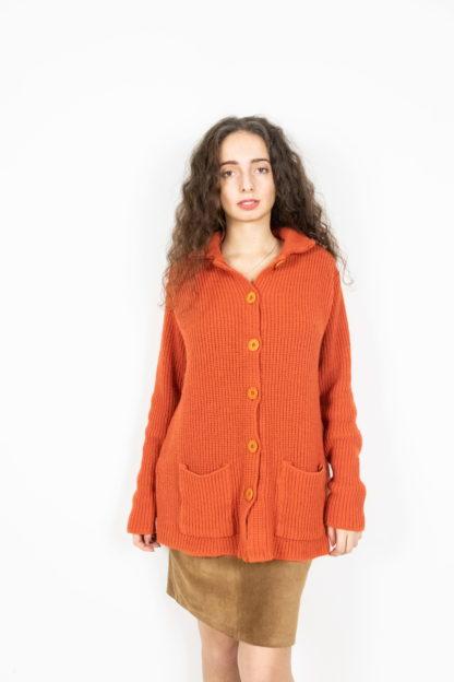 cardigan orange (4)