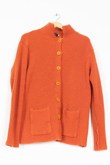 cardigan orange (5)