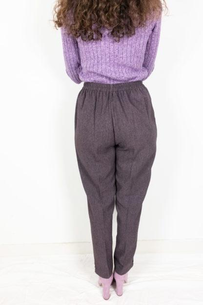 pantalon à pince violet (2)