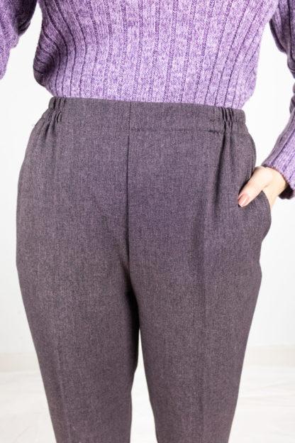 pantalon à pince violet (3)