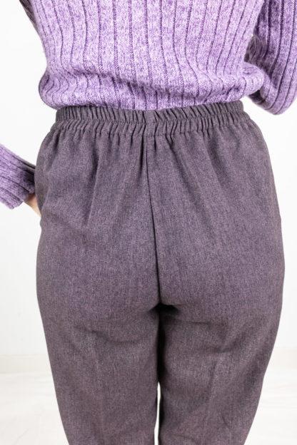 pantalon à pince violet (4)