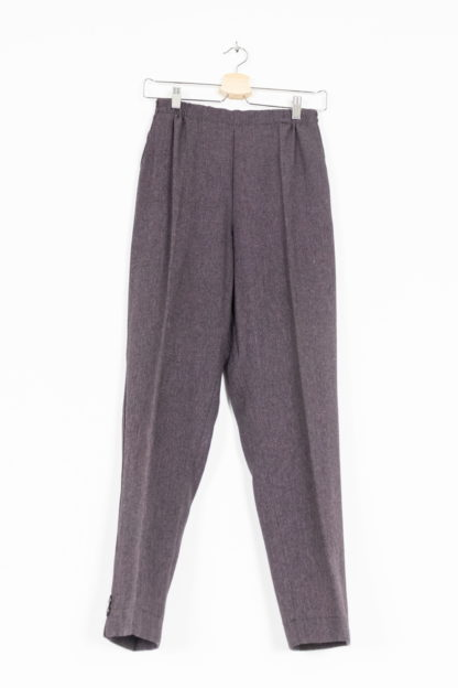 pantalon à pince violet (6)